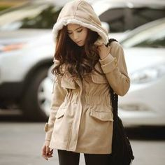 Buy 'TISVIN – Faux-Fur Lining Hooded Band-Waist Coat' at YesStyle.com plus more South Korea items and get Free International Shipping on qualifying orders.