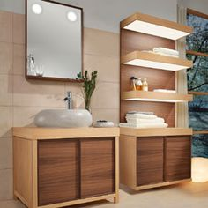 Harmony of nature and modernity with Pure Stone bathroom shelf