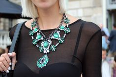 necklace street style - Google Search