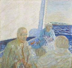 Pierre Bonnard (1867-1947) Promenade en Mer, 1924
