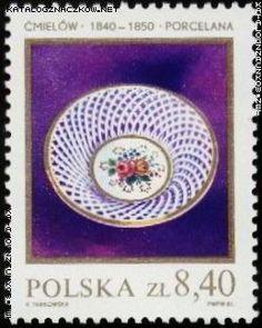 Znaczek nr: 2601 - Polska ceramika szlachetna
