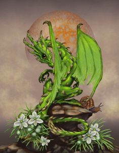 Another awesome and adorable garden dragon by one of my favorite artists, Stanley Morrison. Dragon Series, Werewolf Art, Dragon Artwork, Fantasy Dragon, Custom Posters, Asparagus, Digital Art, Art Prints, Wall Art
