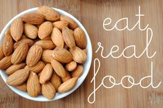 eat real food #fitfluential @FitFluential LLC