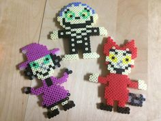 Jack Skeleton Characters Perler Beads | Nightmare Before Christmas Perler Beads…