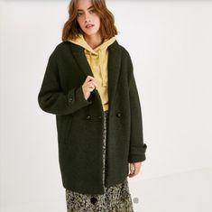 Coat, Jackets, Fashion, Floral, Down Jackets, Moda, Sewing Coat, Fashion Styles, Peacoats