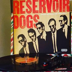 """Let's go get a fucking taco""  #365project #day218 #reserviordogs #stealerswheel #nowspinning #vinyljunkie #vinyligclub #vinylporn by mayhem_missy"