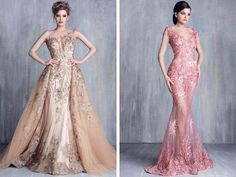 Espectaculares vestidos de noche...