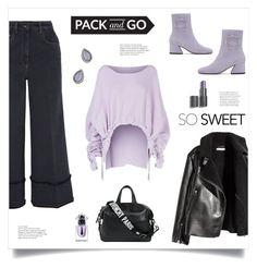 """So Sweet!"" by diane1234 ❤ liked on Polyvore featuring Miu Miu, H&M, STELLA McCARTNEY, Dorateymur, Rebecca Minkoff, Givenchy, Guerlain, parisfashionweek, Packandgo and pastelsweater"