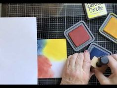 Lavinia Stamps and a Sweet Poppy Stencil along with Distress Oxide Inks - YouTube Lavinia Stamps, Distress Oxide Ink, Poppy, Stencils, Tutorials, Sweet, Youtube, Cards, Candy