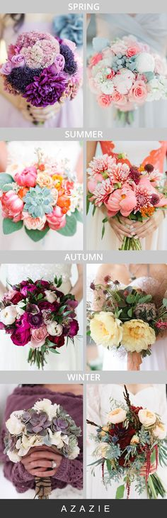 Beautiful bouquet inspiration for the bride-to-be!