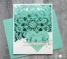Hello! Today I share a fun way to create foiled backgrounds using both stamps and stencils. They are simple and fun! I have lots of examples for you… along with a blog hop and giveaway. [All supplies