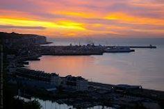 Panoramio - Photo of Sunrise Sky above Dover Harbour, Kent, England, United Kingdom
