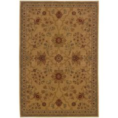 Style Haven Ellington /Red Traditional Area Rug