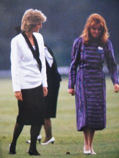 June 18, 1985: Princess Diana at a polo match at Guards Club, Smiths Lawn in Windsor, Berkshire.