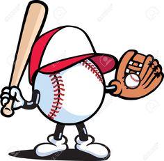 Afbeeldingen, stockfoto's en vectoren van Baseball Cartoon Baseball Crafts, Baseball Boys, Softball, Baseball Boyfriend, Baseball Memes, Baseball Shirts, Baseball Players, Baseball Drawings, Baseball Painting