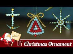 3 DIY Beautiful Christmas ornaments | Holiday room decor | 2017 Christmas Decorations - YouTube