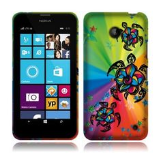 NextKin Nokia Lumia 635 Hard Plastic Front And Back Protector Snap On Cover Case - Colorful Turtle NEXTKIN http://www.amazon.com/dp/B00L8RUFT0/ref=cm_sw_r_pi_dp_HoWnub0FC60S0