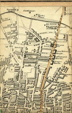 Kingsland and Shoreditch 1830 London Map, British Isles, Will Smith, Family History, How To Plan