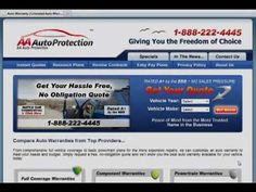 Aa Auto Protection Warranty Coverage Plans Overview  Vehicle