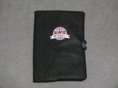 Funda de libro de tela. Protegelibro de tela negra. por Hermitinas, €15.00