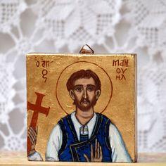 Saint Manuel or Manouil of Sfakia- A glorified Cretan saint by angelicon