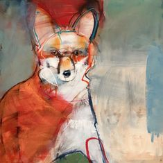 Our header image – August, Rebecca Suzanne Haines's work – Anábasis Art And Illustration, Animal Illustrations, Abstract Animals, Watercolor Animals, Art Altéré, Mexico Art, Organic Art, Guache, Inspiration Art