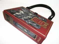 Book Purse The Count of Monte Cristo Handmade Womens Handbag, Altered Vintage Recycled Bag by retrograndma on Etsy