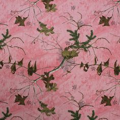 Realtree Xtra Pink Cotton Twill Fabric