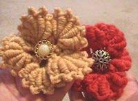 Bullion Stitch Crochet Flower #patterns #tutorials