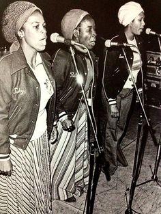 The I-THREES rehearsing in Paris at Espace Ballard, '77.