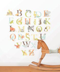 Alphabet Zoo Decal Set