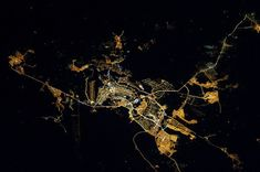 20 imagens de satélites de cidades registradas pela NASA,Brasília, Brasil