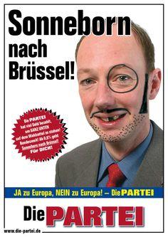 Europawahl 2014, Sonneborn nach Brüssel