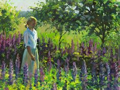 Lupine path ~ Jeffrey T Larson