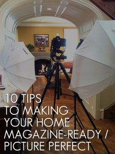 "​ARTICLE: 10 Tips To Making Your Home Magazine-Ready / Picture Perfect | EXCERPT: Do you want your home styled so that it not only reflects your personality, but also looks beautiful enough to grace the cover of a magazine? (I sense you're saying ""yes"") Then do as I did when I worked with Joetta and... 