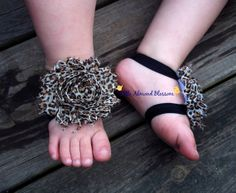 barefoot sandals baby barefoot sandals by LittleAlmondBlossom, $6.00
