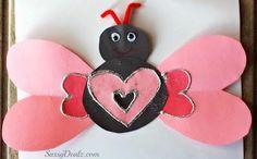 DIY Children's : DIY Heart Butterfly Craft