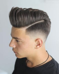 42 best short haircuts for men in 2018 comb over haircut moh Mohawk Hairstyles Men, Mens Medium Length Hairstyles, Side Part Hairstyles, Hairstyle Fade, Pompadour Fade Haircut, Comb Over Haircut, Modern Mens Haircuts, Haircuts For Men, Hair Styles