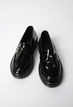 リボンポイントローファー | レディース・ガールズファッション通販サイト - STYLENANDA