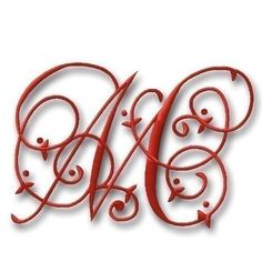Up for your consideration is a beautiful EXCLUSIVE monogram set. This is a set that I created in honor of my daughter :) It is stunning, the perfect