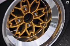 Love these old skool Enkei's Chrome Wheels, Car Wheels, Mustang Wheels, Aftermarket Wheels, Japan Cars, Automotive Art, Alloy Wheel, Car Parts, Car Accessories