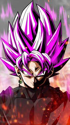 dark anime wallpaper iphone dragon ball super junge mit lila haar Dragon Ball Z, Black Dragon, Black Goku, Manga Art, Anime Art, 1440x2560 Wallpaper, Violet Hair, Manga Characters, Backgrounds