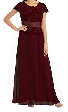 Womens Short Sleeve Lace Chiffon Top Mother of Bride Evening Wedding Silver Dress (Small, Burgundy) Love My Seamless http://www.amazon.com/dp/B00SRXI298/ref=cm_sw_r_pi_dp_oN8avb15XK609