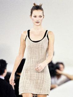 Calvin Klein's Best Minimalist Hair and Makeup Moments From the Fashion Week Runways