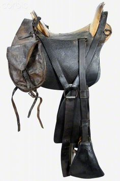 United States Civil War, Union 1859 McClellan Cavalry Saddle