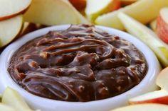Chocolate Toffee Crunch Apple Dip