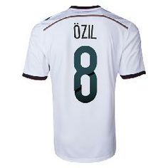 2014-15 Germany World Cup Home Shirt (Ozil 8)  $108.90