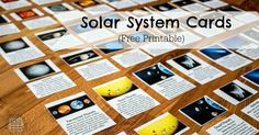 A free printable of 24 terms related to our Solar System included all the planets, sun, moon, asteroid belt, Kuiper belt, types of planets and space objects