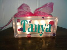 Glass night lights Vinyl Project, Nic-Nack Vinyl Creations