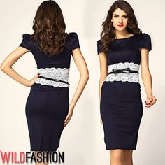 Short Sleeve Dresses, Dresses With Sleeves, Campaign, Content, Medium, Fashion, Moda, Sleeve Dresses, Fashion Styles